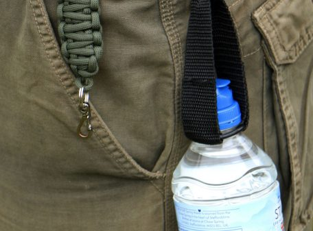 Belt and Water Bottle