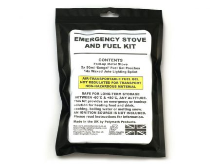 Emergency Stove Packaged